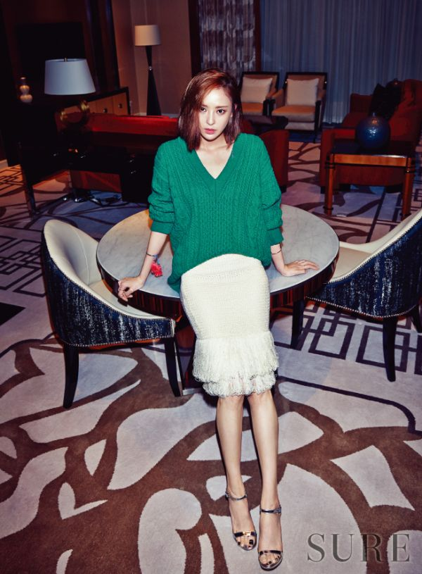 Lee Da Hee Sure Magazine December 2015 photos
