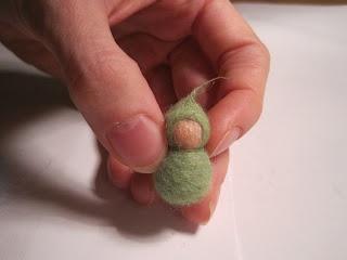 ~ lady beetle at work ~: Anleitung Filzbabys