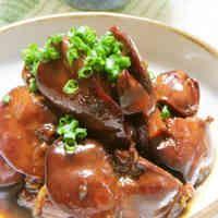 鉄分補給☆鶏レバーの甘辛煮☆生姜風味