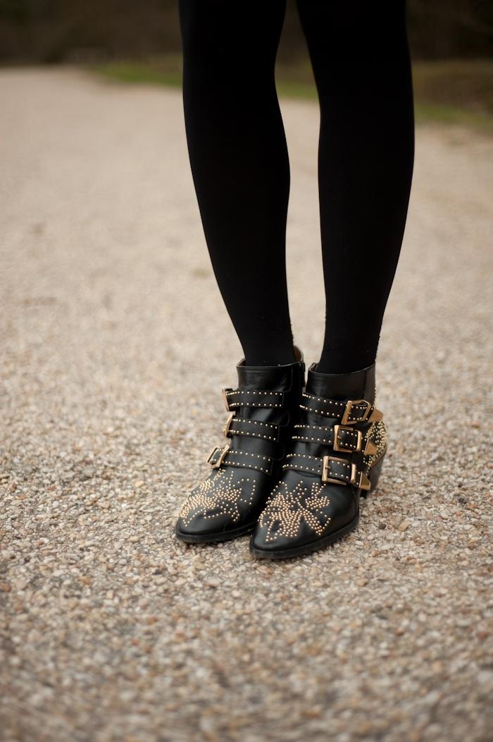 CHLOE Susan/Susanna Ankle Studded Boots..WANT!!!
