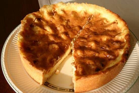 De heerlijkste appeltaart met vanillepudding