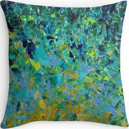 teal cushion - Google Search