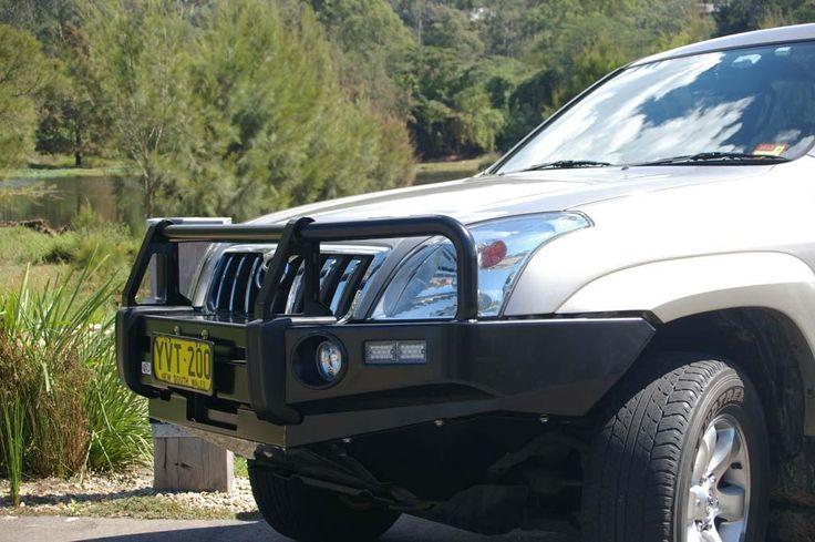 Premium post bar to suit Toyota Landcruiser Prado 120 Series