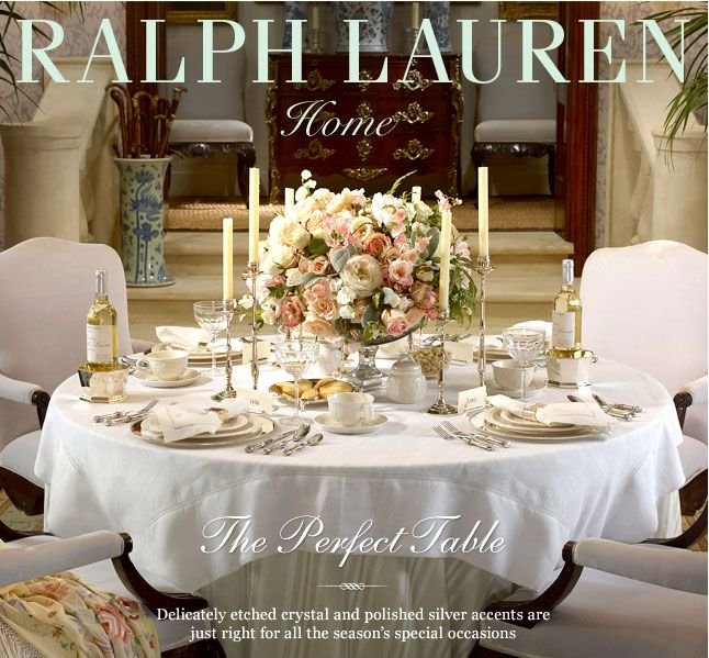 Charmant Ralph Lauren Decorating | RL Spring 2013 | Ralph Lauren Home Decor
