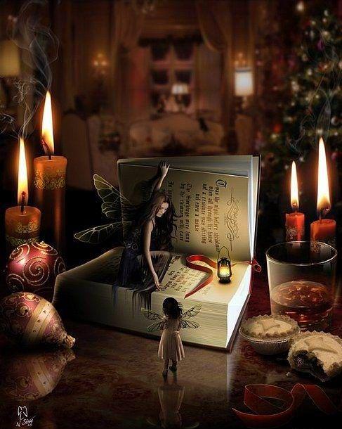 Book Fairies at the Book Nook in Galdoren (The Door in the Sky).