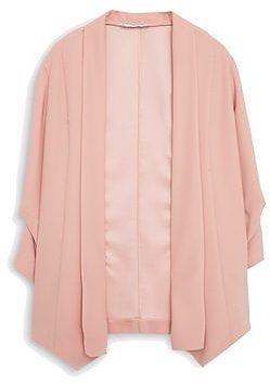 Womens pink beige suit jacket gabys-a from Mango - £69.99 at ClothingByColour.com
