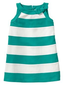 Bow striped dress | Gap - for Adele - what do you think @Kathryn Williams?