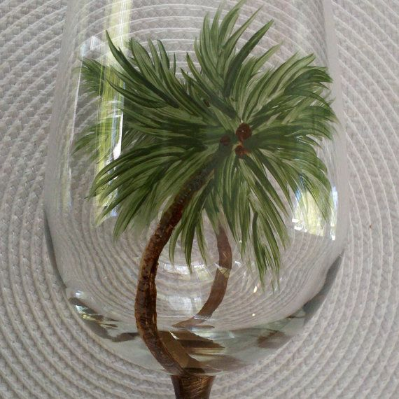 17 Best Images About Painted Wine Glasses On Pinterest