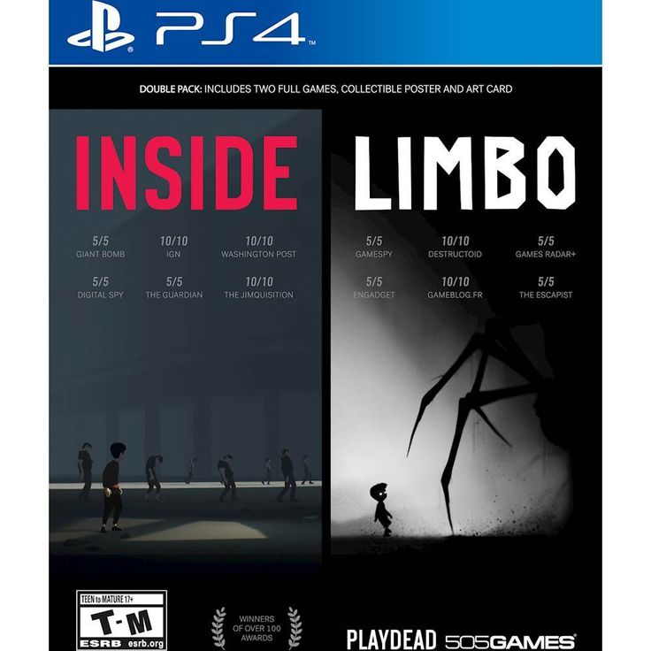 Just added to PlayStation 4 on Best Buy : Inside / Limbo Double Pack - PlayStation 4