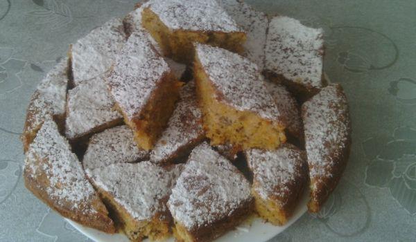 Сладкиш с тиква, орехи и канела - Рецепта. Как да приготвим Сладкиш с тиква, орехи и канела. Кликни тук, за да видиш пълната рецепта.