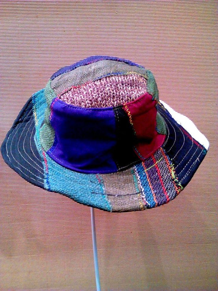Χειροποίητο unisex καπέλο patchwork