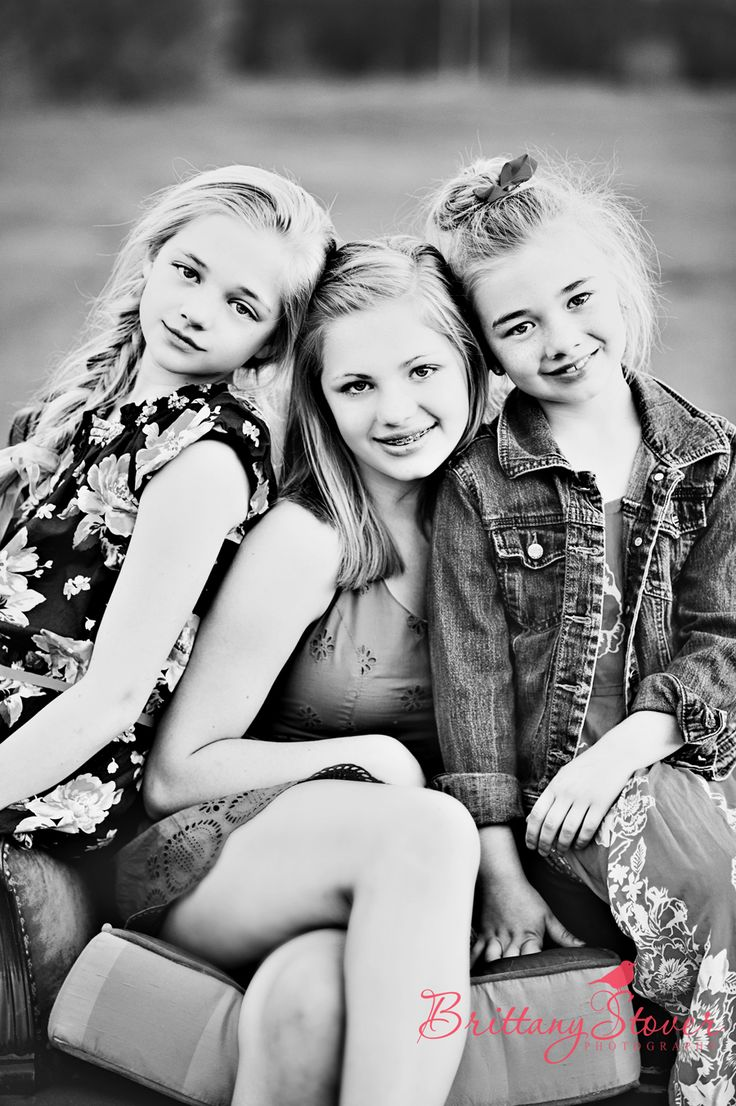 This reminded me of Mackenzie, Molly & Madalyn in a few years <3