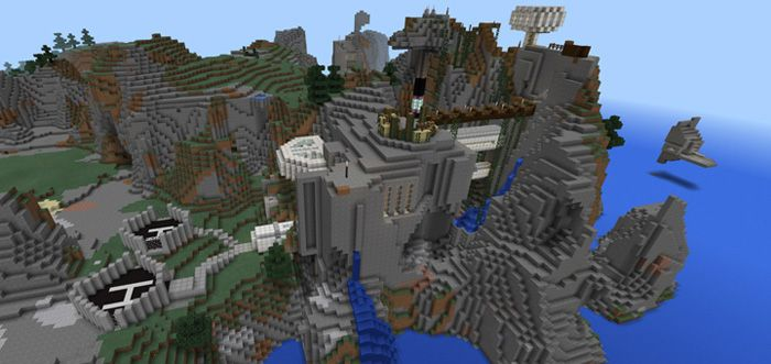 This map is considered as an ideal mountain base for your Minecraft Pocket Edition. It comes with the special design to help you take advantage of beautiful around mountains. There is no need of leaving the base to access any place inside the base thanks to a system of tunnels. If you improve... http://mcpebox.com/epic-cliffs-base-creation-maps-minecraft-pe/