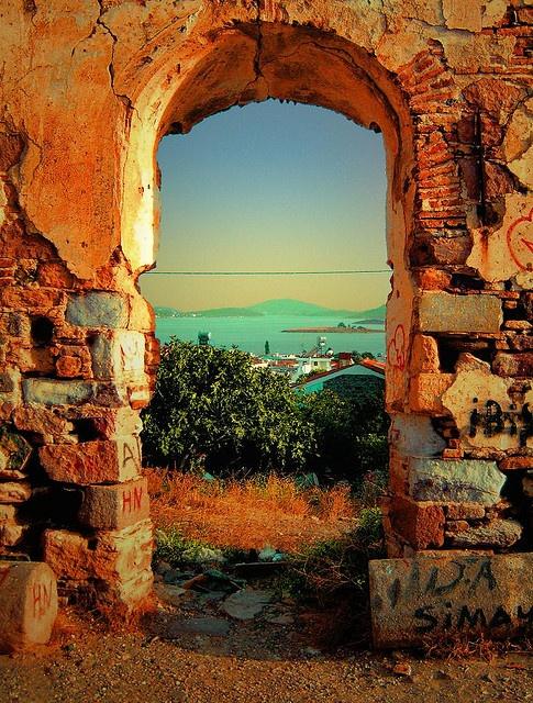 Cunda Island, Turkey... by Kıvanç Niş, via Flickr