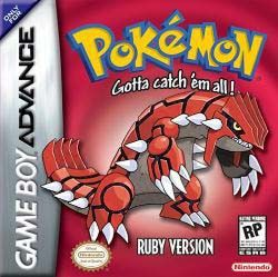 Pokemon Ruby + Bonus Fire Red Version GBA Games Download  Premium Game