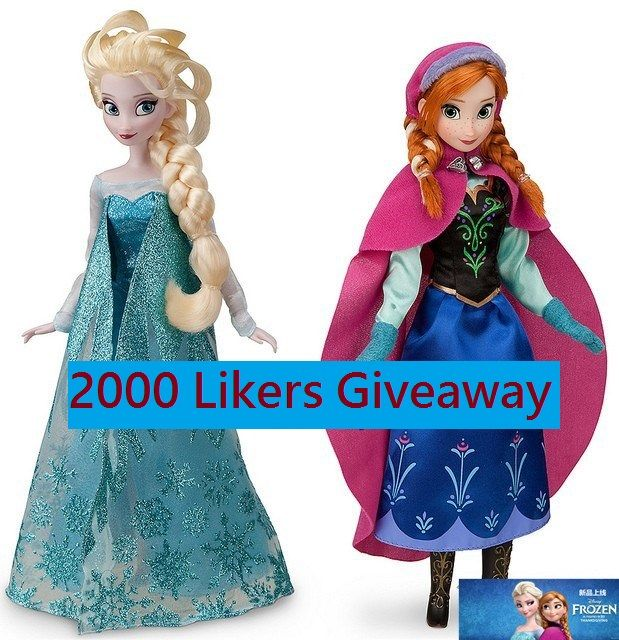 Enter to win: Frozen Doll Set   http://www.dango.co.nz/s.php?u=eUvfxNC31853