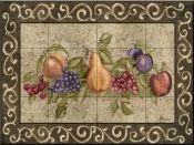 Traditional Fruit I-PB - Tile Mural