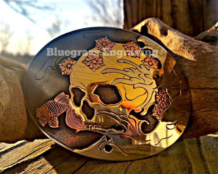 Artisan crafted mixed metal belt buckle, hand forged, hand engraved. Normally made to order with 6 week wait time, but this one is READY TO SHIP in our Etsy shop. #beltbuckle