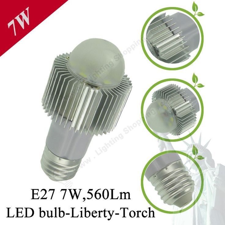 E27 Liberty Torch-Detail-7W