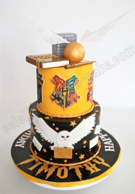 Harry Potter Cake. Why hasn't someone made me this yet?