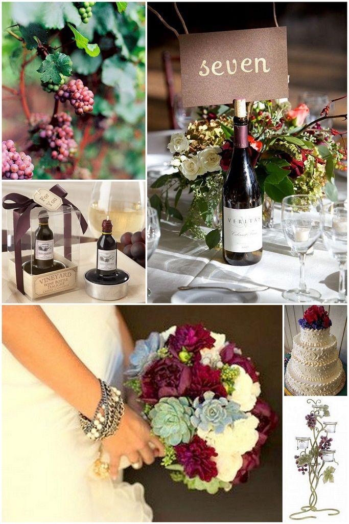 178 best Wine themed Weddings images on Pinterest | Wine pairings ...