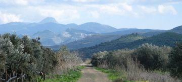 Asterousia Mountains. Crete