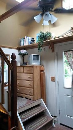 Woman Converts Barn Shed into 192 Sq. Ft. Tiny Home - this is the Lowe's shed tiny house but more photos and an interview with its owner. Very interesting!