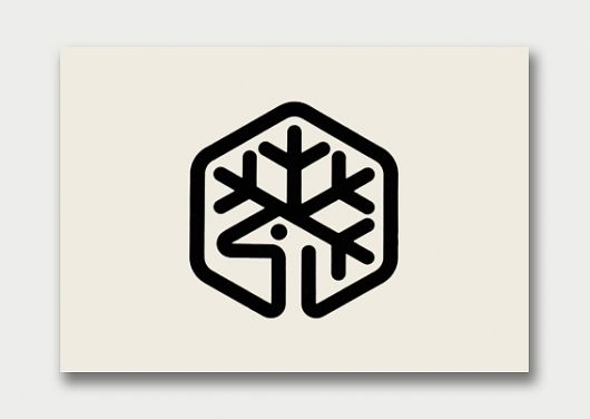 No idea where this came from, but I'll pin a snowflake deer in a hexagon every time.