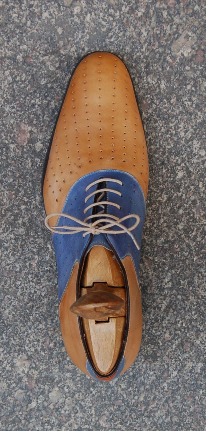 30′s Style Saddle Oxford