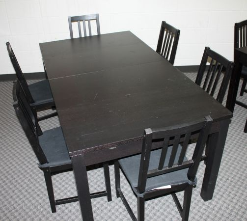IKEA Bjursta Dining Table Stefan Chairs FURNITURE Pinterest