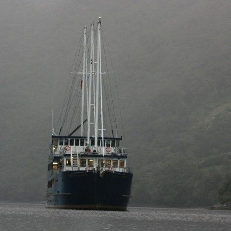 Doubtful Sound Overnight Cruise: Stay on-board the Fiordland Navigator for an unforgettable experience deep in the heart of Fiordland National Park. http://goo.gl/oMlDdz