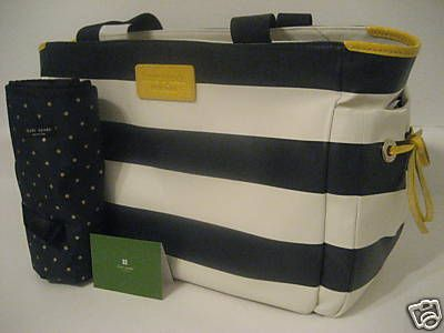 Kate Spade diaper bag. Loooove mine! But love this one!