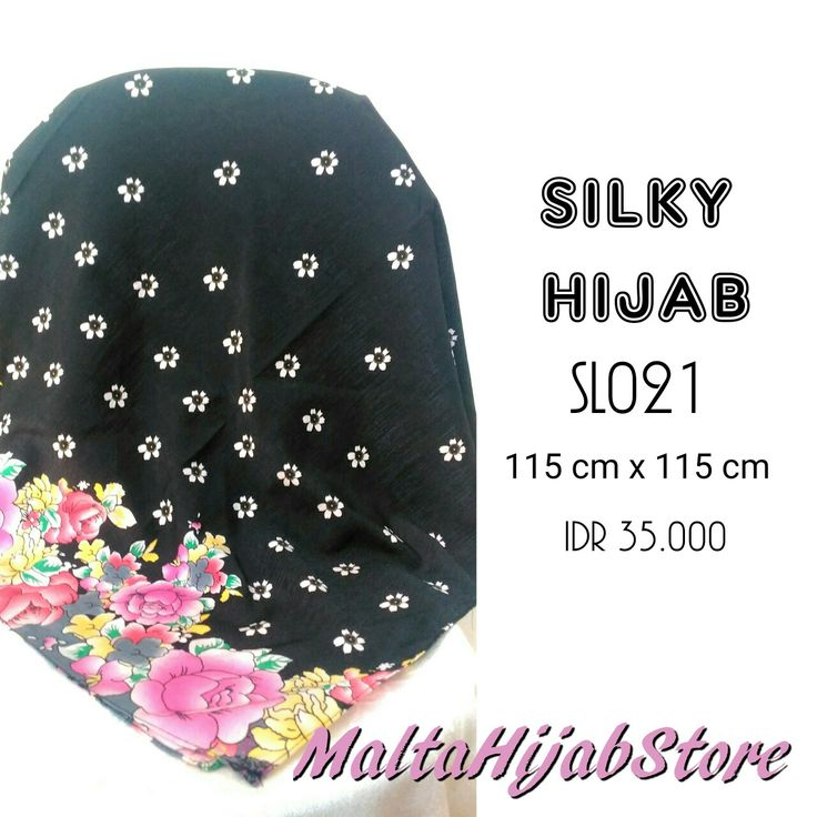 Silky Hijab Material: Cotton Silk Follow our instagram for more updates: @maltahijab_store
