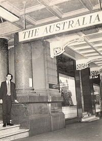Australia Hotel Sydney..1889-1971 My first diner date with my soon to be husband..... Made a light for over our dining room table from parts of the Victorian mahogany staircase.