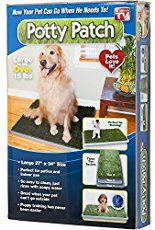 The Potty Patch is the best indoor dog potty solution. This dog litter box uses specially scented grass that works as the perfect doggie restroom for patios and indoor use. The secret is the soft artificial grass that is specifically designed to let liquid flow through.…Read more ›