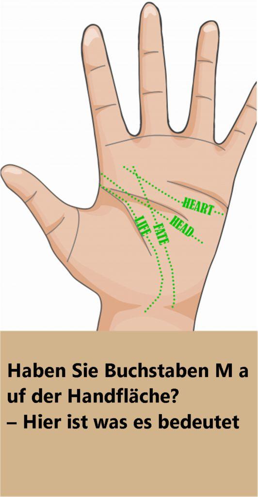 Haben Sie Buchstaben M auf der Handfläche? – Hier ist was es bedeutet | njusk…