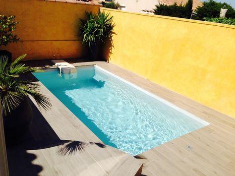 Photo Petite piscine polyester de 5m - Photo d'une piscine coque