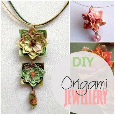 Origami Jewellery Tutorial