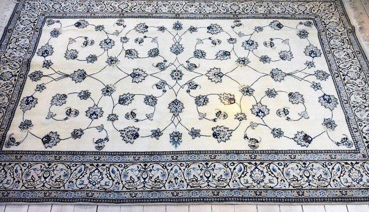 Äkta Persisk handknuten Nain matta, ca 200 x 300 cm. Helt NY!