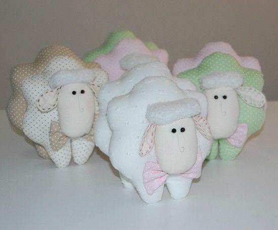 Ovelha de tecido - Infinita Arte for Baby
