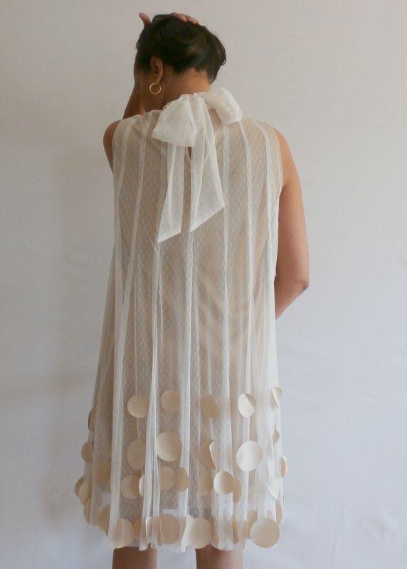 Back Bow Lace Dress