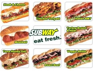 See the full Subway Menu with prices