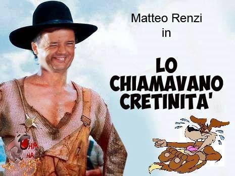 """il popolo del blog,: Matteo #Renzi nel film """"Lo chiamavano cretinità"""", ..."""