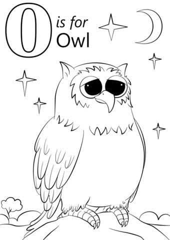 25 Basta Owl Coloring Pages Ideerna Pa Pinterest