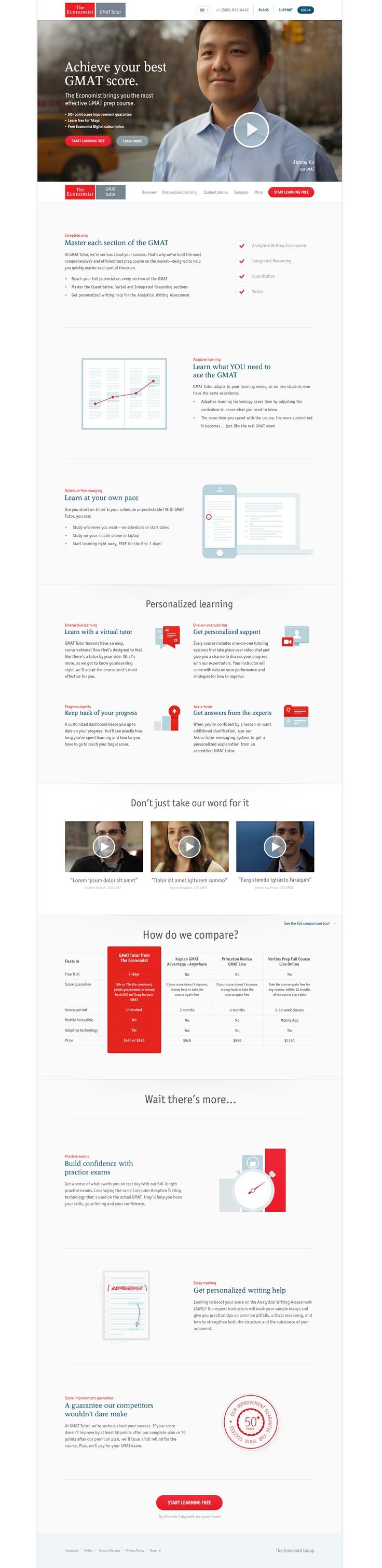 Economist GMAT Homepage by Haraldur Thorleifsson
