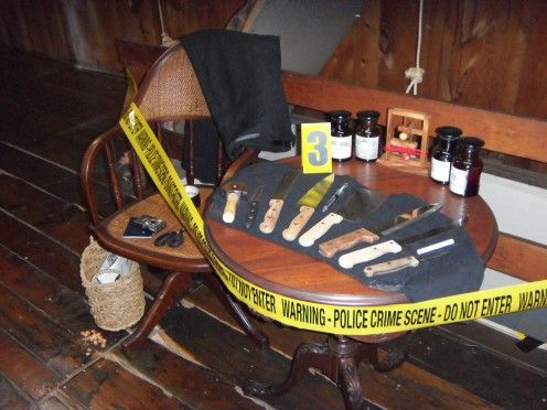 hey party people planners and goers want to get an idea for a crime scene themed halloween party night without breaking the bank check this hub out
