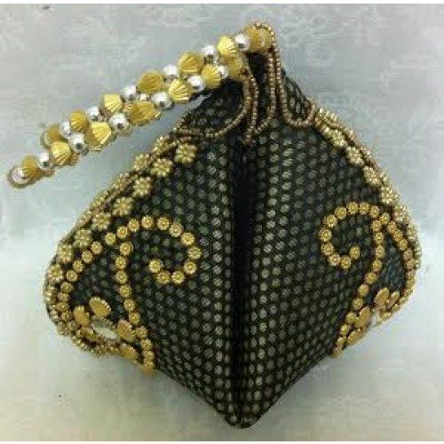 Online Shopping for Mehandi green ethnic potli bag | Potli Bags | Unique Indian Products by the desi soul - MTHE 57016334300