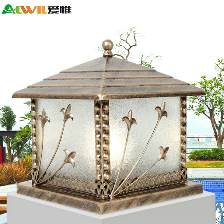 Nieuwe collectie moderne rustieke buitenverlichting outdoor waterdicht kolom lampen in nieuwe aankomst moderne rustieke terreinverlichting outdoor waterproof kolom lampenFashion Acryl LED ceiling light moder van landschap verlichting op AliExpress.com | Alibaba Groep