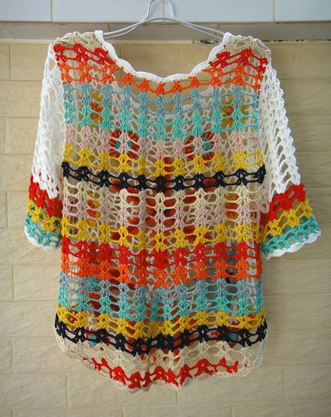 Handmade Crochet Floral Top Women Bohemian Clothing [CTW73] - $55.00 : Tina Crochet Studio, Fashion Anniversary Gifts for Her Handmade Crochet Women Bohemian Accessory