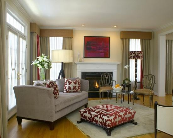 SMALL LIVING ROOMS furniture arrangement, colors